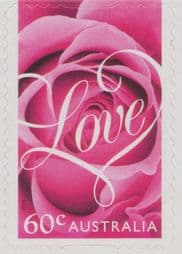 Australian Stamps 2014 SG4129 Special Occasions 2014: Romance self-adhesive Roses from booklet (exSB463)